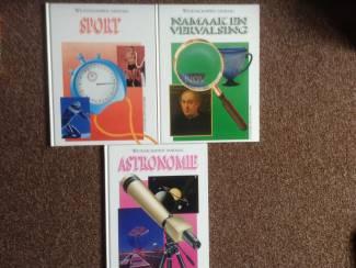 Boeken 3x; wetenschappen vandaag, prachtige boeken,leerzaam