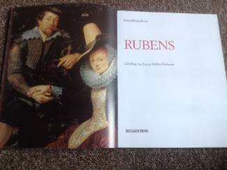 Boek v/d mooiste meesterwerken van schilder Rubens TOP