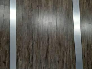 Kunststof geborsteld Aluminium look lijst