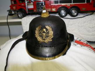 brandweerhelm en div