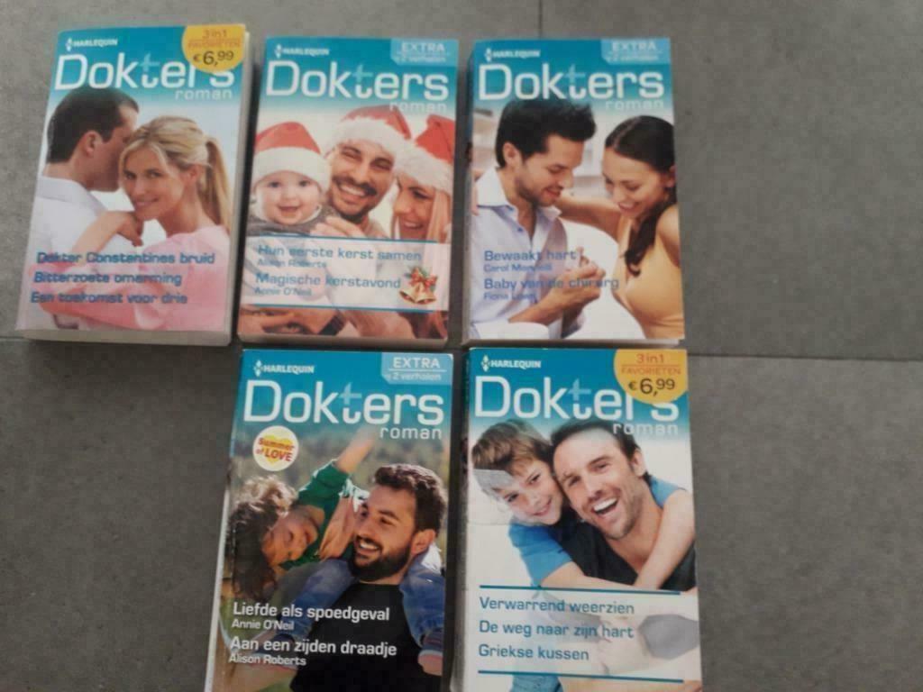 6 Boeken van Dokters hun mooie liefdesverhalen,romans enz..