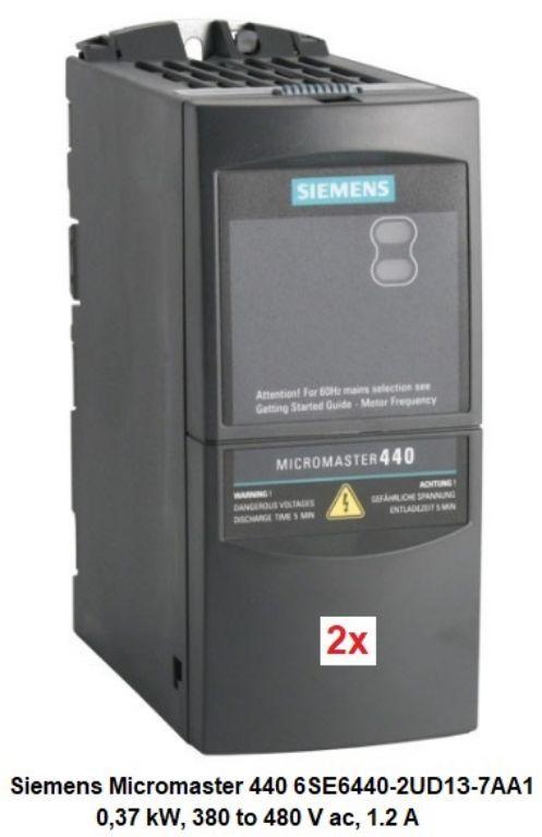### Frequentieregelaar 3 fase Siemens MICROMASTER 440  ###