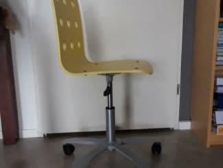 Gele Ikea bureau stoel