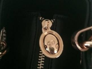 Tassen | Damestassen Mooie zwarte tas echt leer splinternieuw Dior J'adore lady b