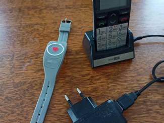 Persoonlijk alarm met prepaid mobiel