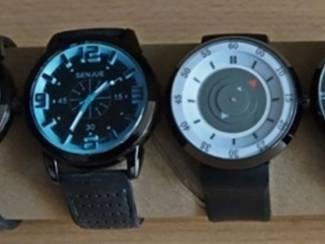 Quartz horloges super uurwerk nieuwe batterij 5,00 euro per stuk