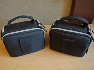 2 Luxon foto tasjes 15 x 12 x 10 cm 12,50 incl verzending