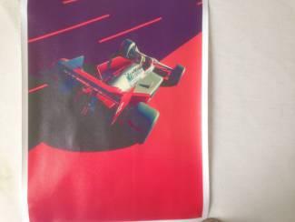 mclaren kwailiteit canvas poster 30x40cm