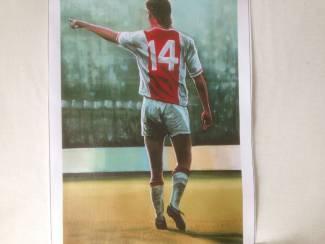 johan cruijff kwaliteit canvas poster