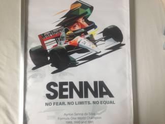 ayrton senna kwaliteit canvas poster