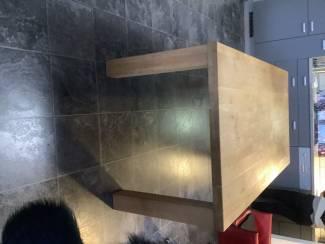 Tafels | Eettafels Eettafel eiken onbehandeld van 200cm100cm 75cm