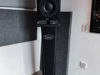 Dynaudio BM 15A actieve studiomonitors + Stands + Mogami kabels