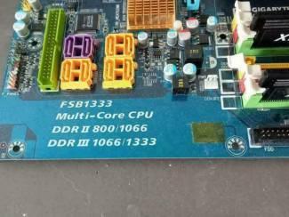 Moederborden Gigabyte P35C-DS3R - Core2Quad Q9400-8gb