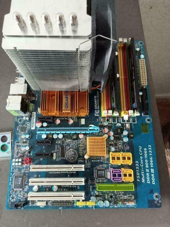 Gigabyte P35C-DS3R - Core2Quad Q9400-8gb