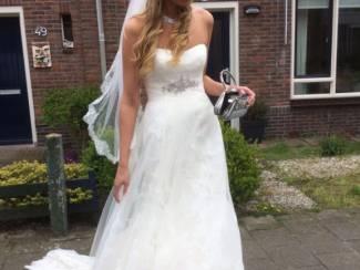 prachtige bruidsjapon 1x gedragen