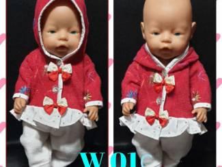 kleding baby pop 43cm