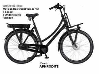 vandijck elektrische transport fiets +468 wh accu, frame 50 cm