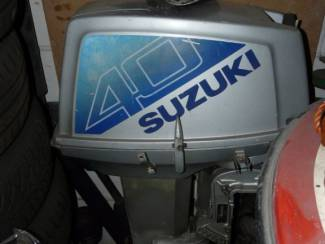 Suzuki 40pk 2takt buitenboordmotor