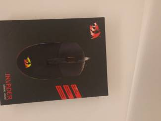 red dragon, gaming mouse invader