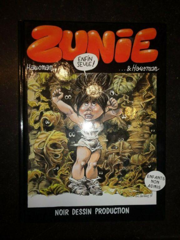 Zunie, ..enfin seule. Hausman Noir Dessin Production 1998