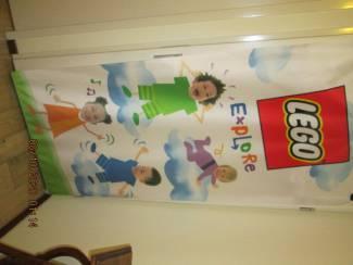 Vlag Banner LEGO Explore 90x196 cm
