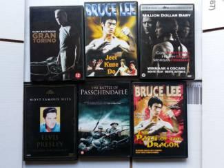 Dvd's 11 stuks film en muziek