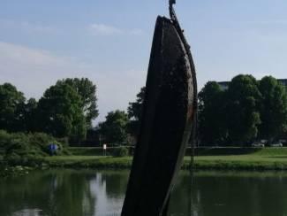 Opknapper stalen roeiboot / vissersboot / Hollandse boot