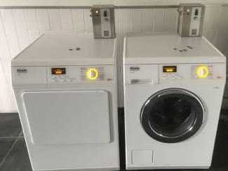 MIELE PROFESSIONAL wasmachine met muntautomaten betaalsysteem pro