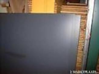 hpl merk TRESPA Antracietgrijs 213 x 427 cm 8 mm tweezijdig