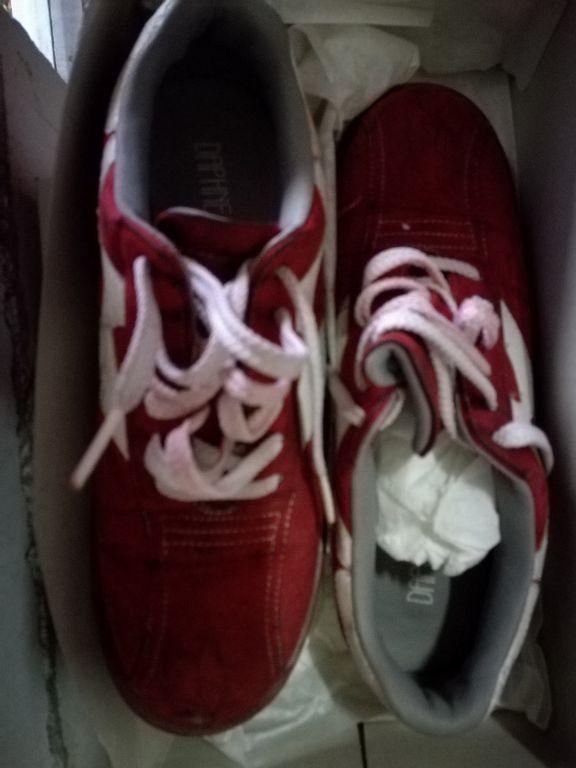 Dames suede sneaker