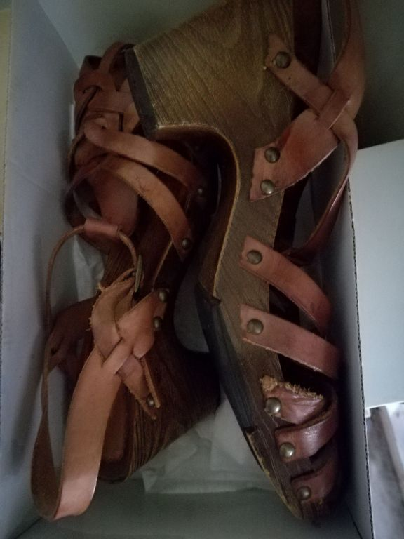 Mooie leer sandals