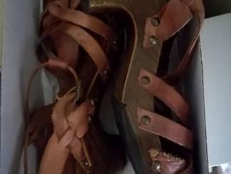 Schoenen Mooie leer sandals
