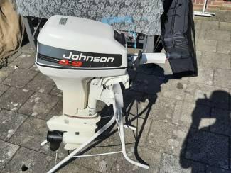 Johnson 9.9 PK 2 cilinder kortstaart met tank