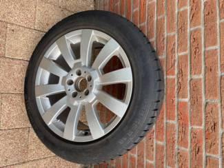 Winterbanden Mercedes GLK 19 inch; Continental 235/55/19